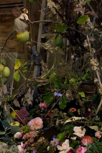 Herbststillleben mit Elfe